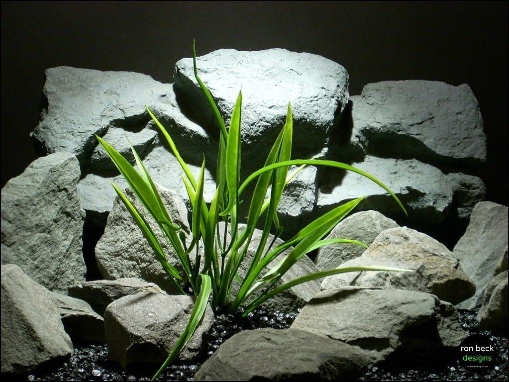 plastic aquarium plant arrowhead grass pap148 from ron beck designs