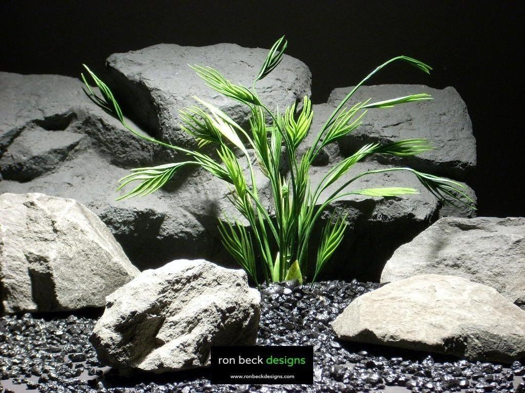 aquarium plants mermaid grass parp003 plastic  ron beck designs