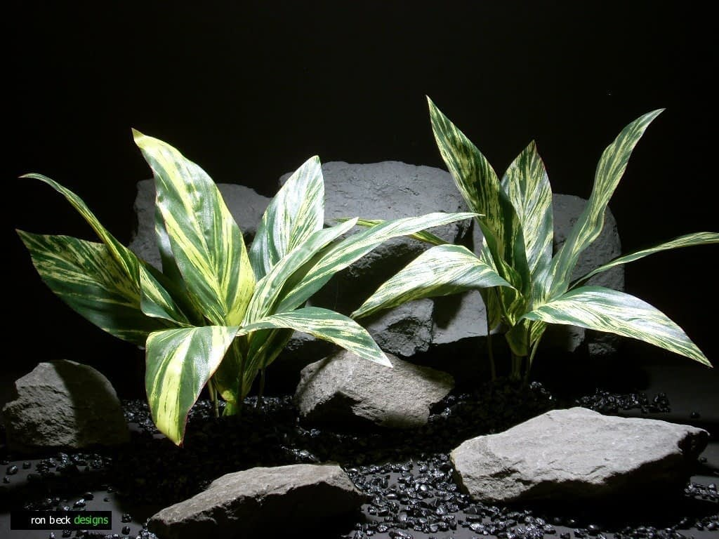 reptile habitat plants dracena lvs vargtd sap411 poly silk ron beck designs