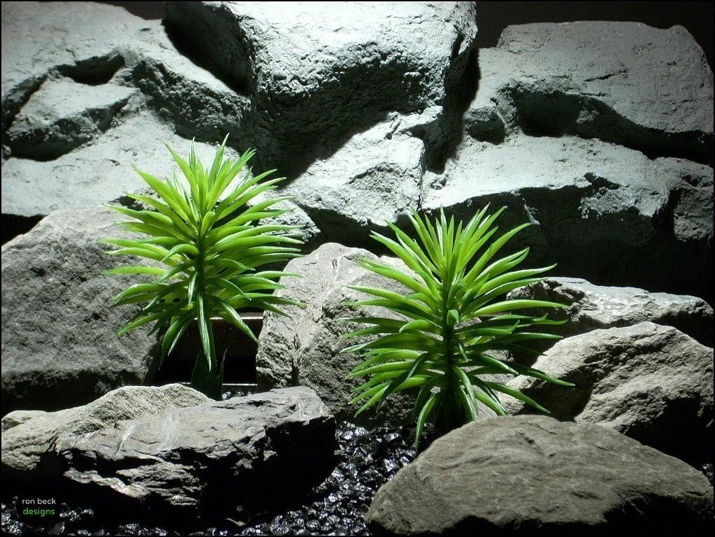 plastic aquarium plants pine needle bush pap101 by ron beck designs