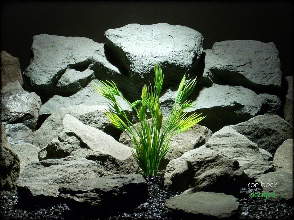 plastic aquarium plant- mermaid grass from ron beck designs pap223