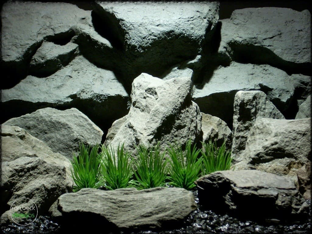 pine needle grass plot plastic aquarium plants pap241