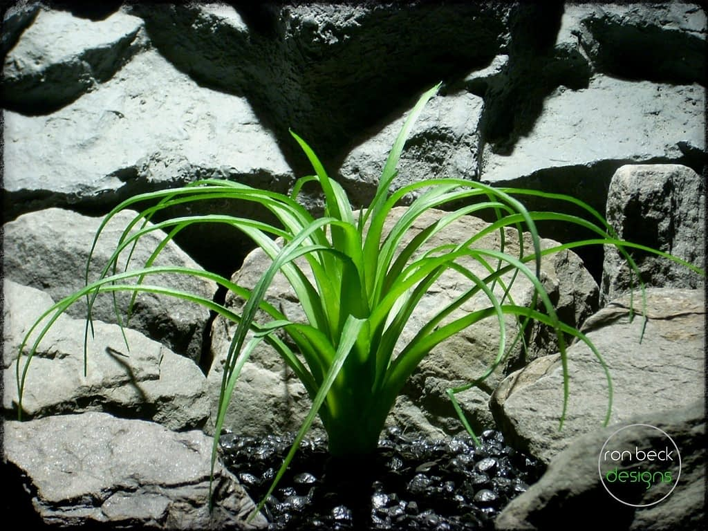 artificial plant: ponytail palm reptile plant decor prp253 2