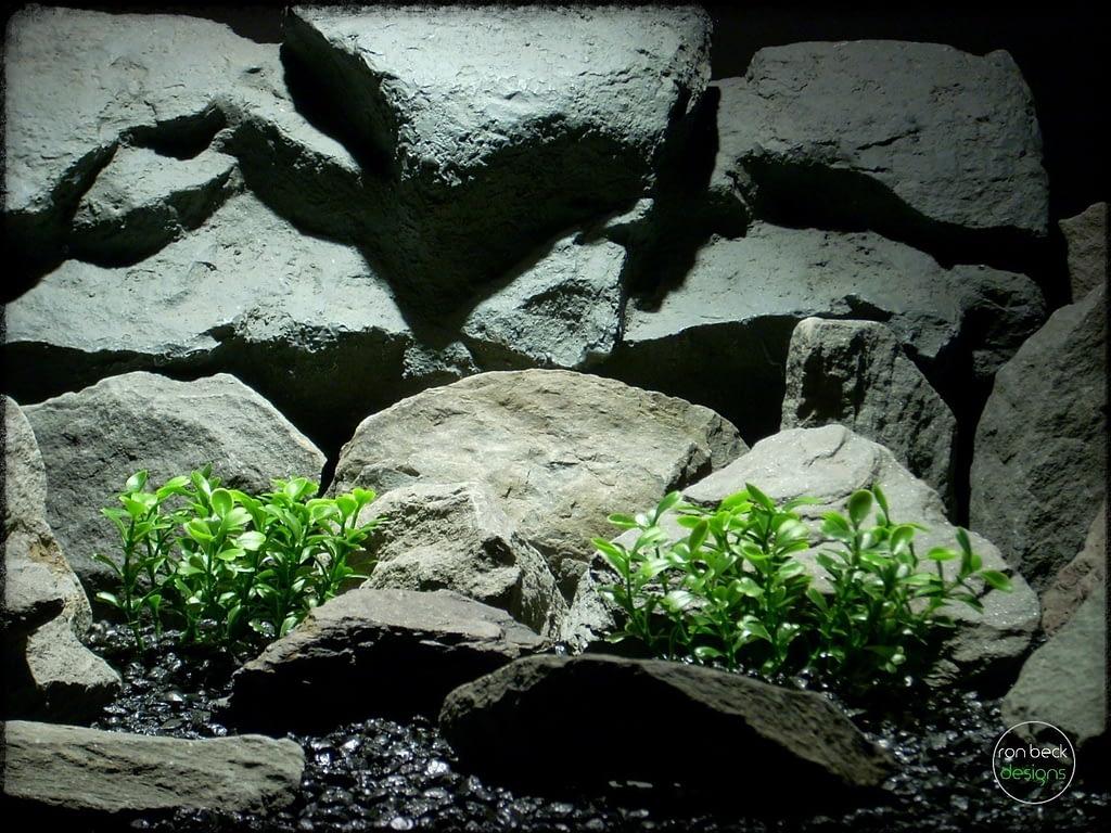 boxwood bushes | artificial aquarium plants. pap254