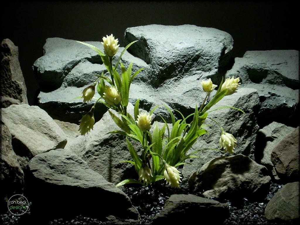 Artificial Protea plant - artificial reptile amphibian plant prp281