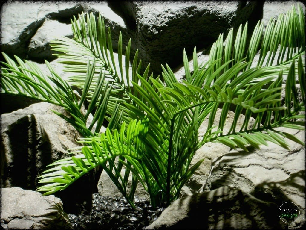 Snake Cage Decor Plants Palm - Ron Beck Designs