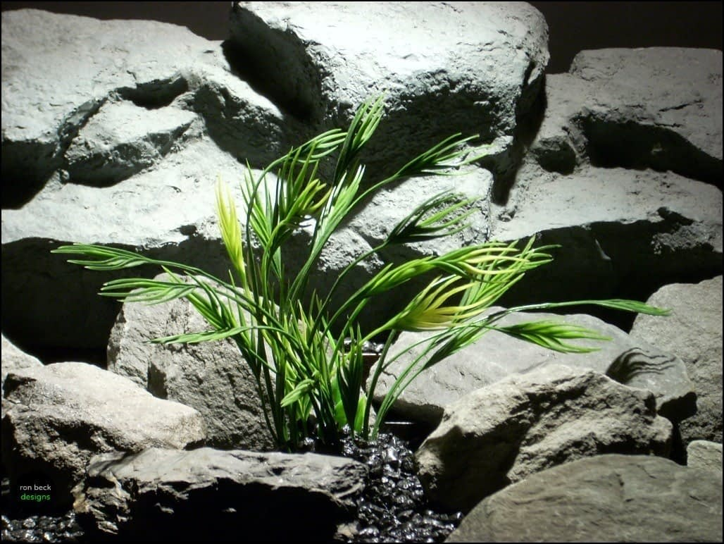 artificial aquarium plants: mermaid grass pap103 by ron beck designs