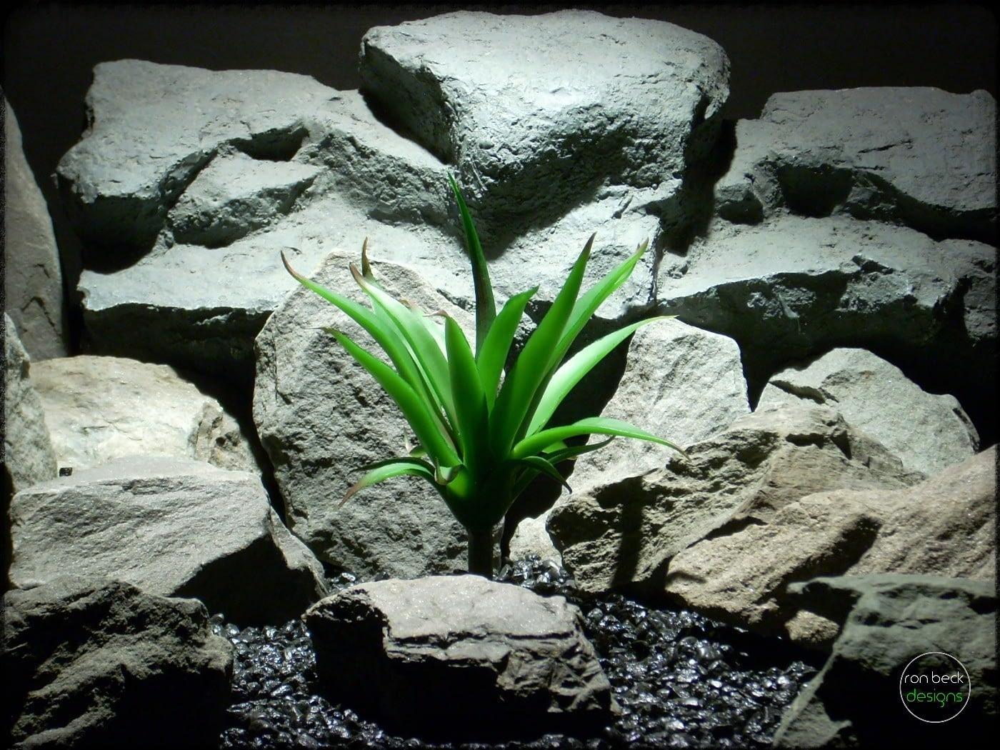 Artificial Aloe Succulent - Artificial Reptile Plant - prp317
