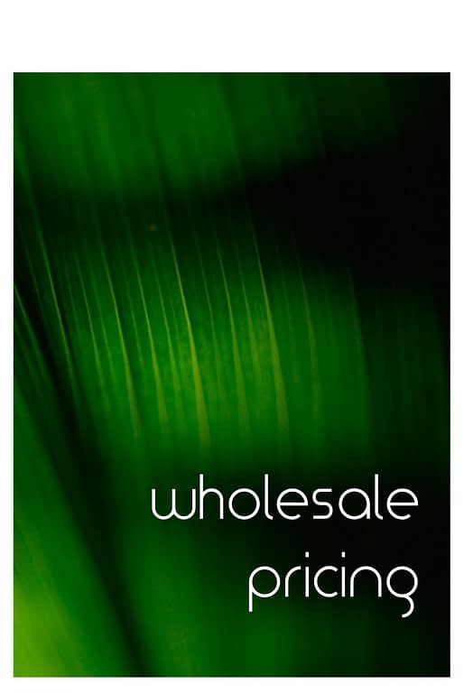 wholesale pricing - ron beck designs