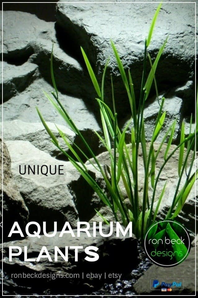 artificial aquarium plants | ronbeckdesignscom | ron beck designs