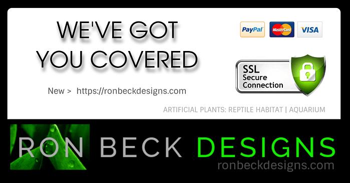 SSL Secure Connection - Ron Beck Designs
