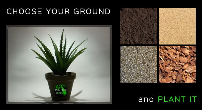 Choose your ground - Artificial Aloe Vera Succulent - Planted