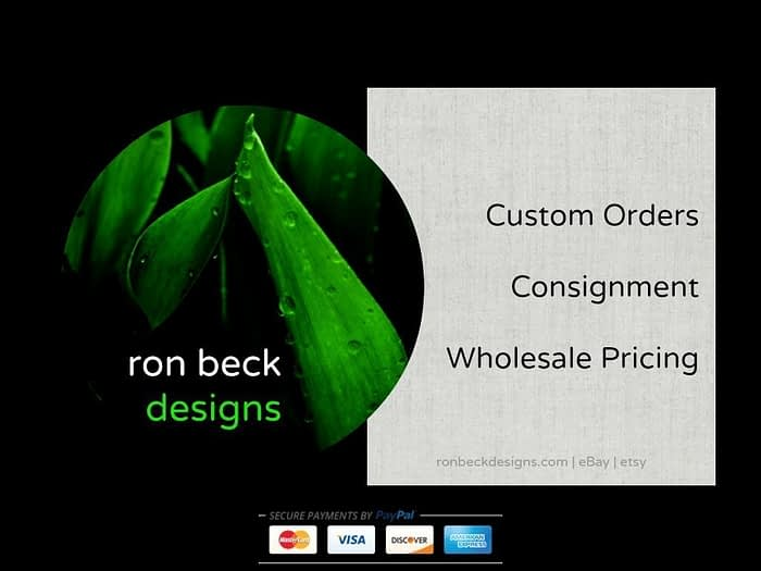 services offered from ron beck designs | ronbeckdesigns.com