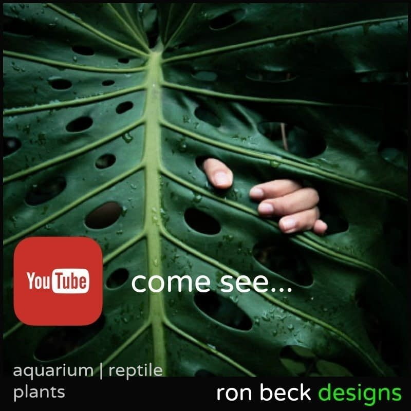 youtube channel | ron beck designs