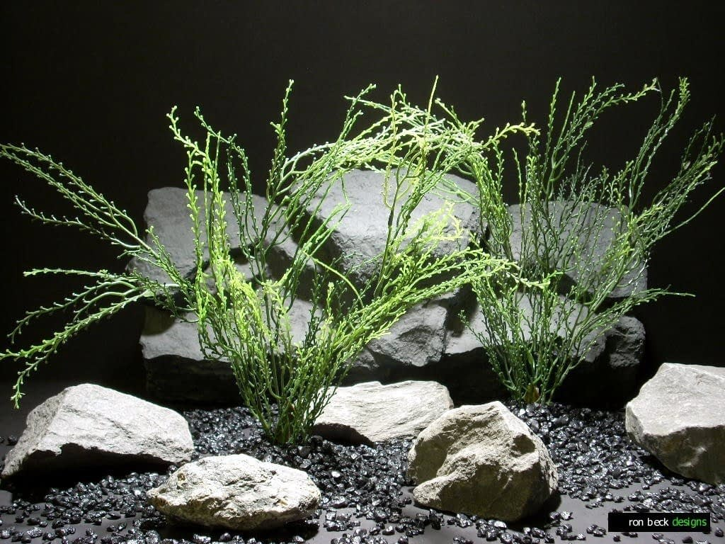 plastic aquarium plants bead grass pap207 plastic  ron beck designs