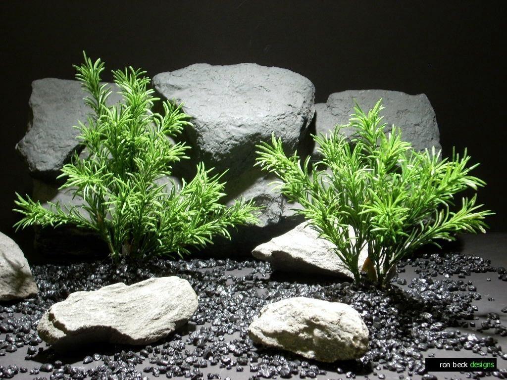 aquarium plants sprengeri bush pap205 plastic  ron beck designs