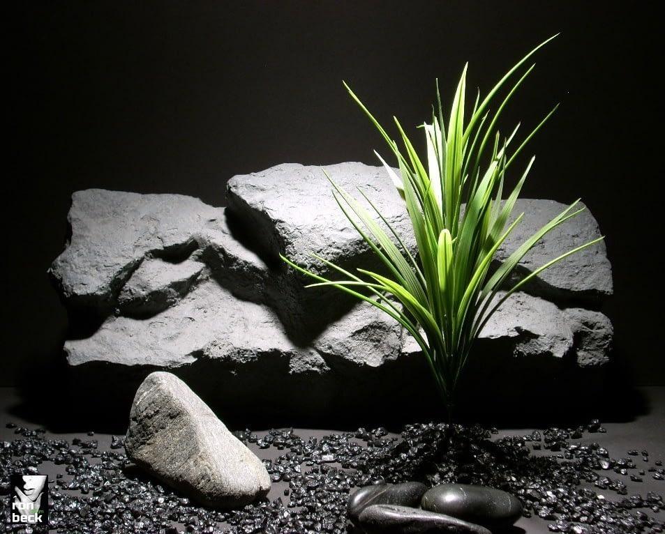 plastic aquarium plants blade grass bush pap159 plstc. ron beck designs