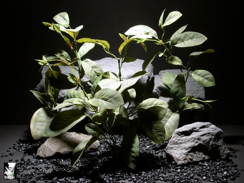 reptile habitat plants mountain laurel silk sap343 ron beck designs