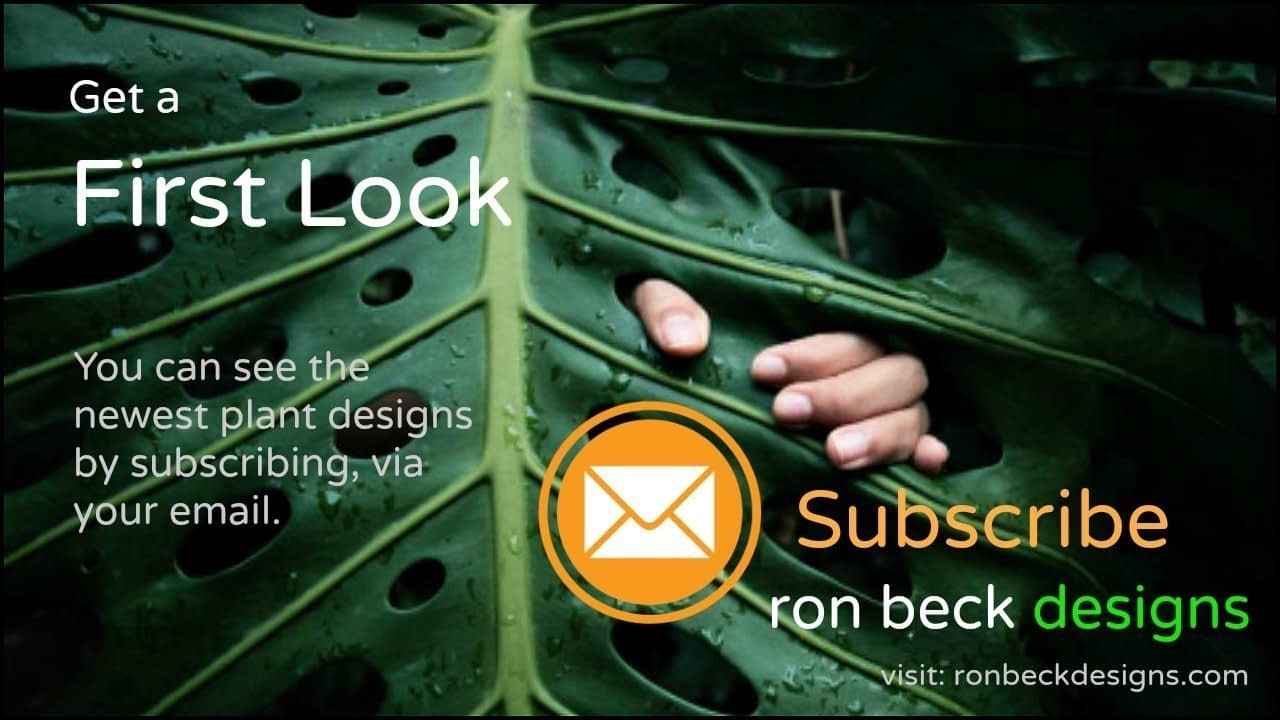 subscribe ron beck designs via email. Link located under the services tab, drop down menu.