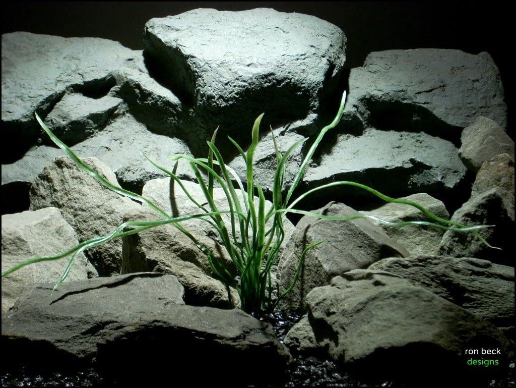 plastic aquarium plant seagrass pap154 from ron beck designs