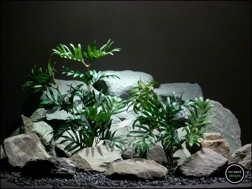 silk-reptile-plants-broken-leaf-bushes-sarp161-from-ron-beck-designs