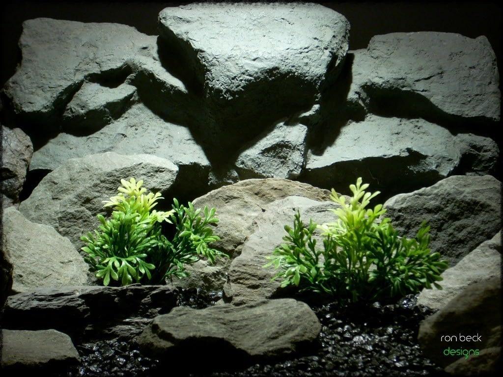 pinnate leaf bush artificial aquarium plant from ron beck designs