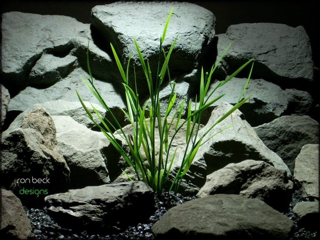 aquarium plant: bamboo shoots from ron beck designs. pap225