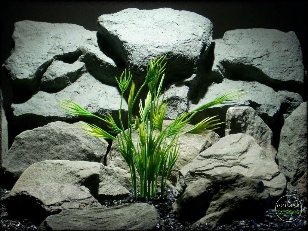 mermaid grass plastic aquarium plant pap249