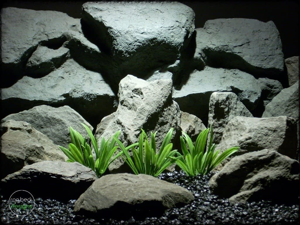 river grass plastic aquarium plant plot pap238