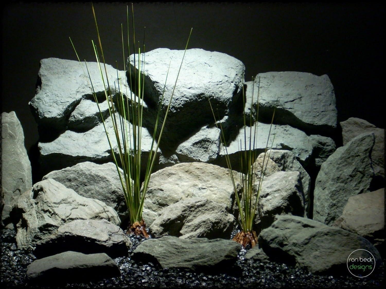 zebra grass   artificial reptile plants prp255