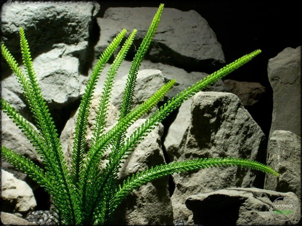 Tail Grass | Artificial Aquarium Plant | Ron Beck Designs pap267 2