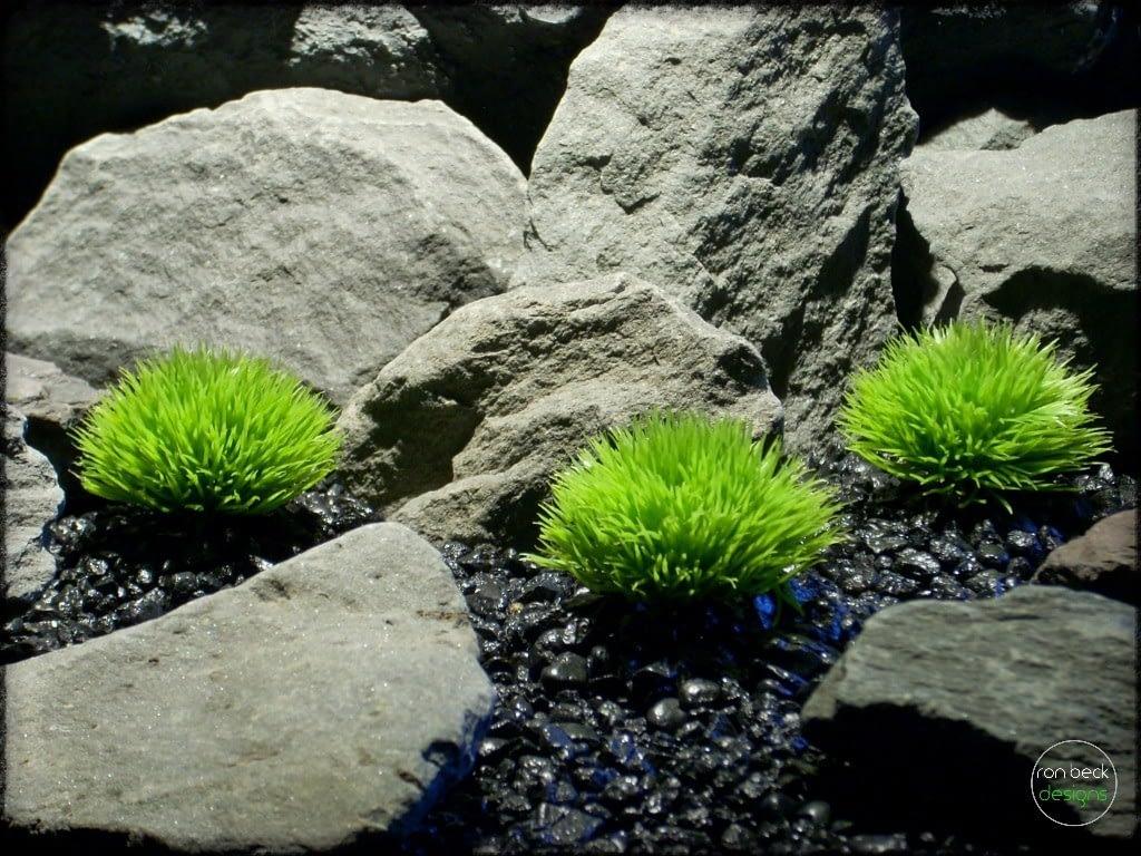 Plastic Moss | Artificial Aquarium Plants | ron beck designs pap276