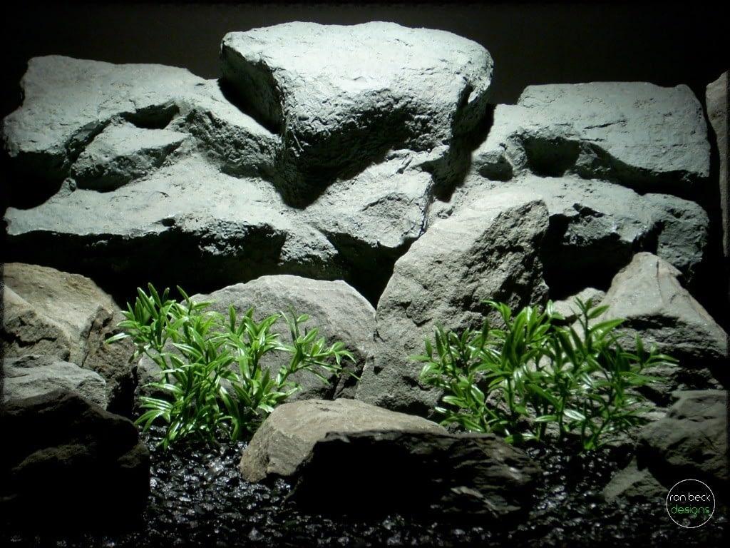 dwarf hygrophila artificial aquarium plants | ron beck designs pap273