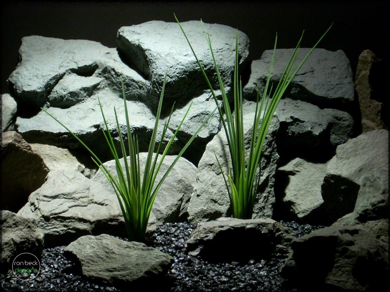 Artificial Grass Reeds - Aquarium Plant - parp286 1
