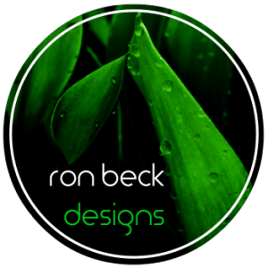 artificial plants | ron beck designs | logo